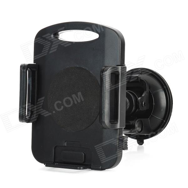 Universal 360 Degree Rotation Suction Cup Car Mount Holder for Ipad MINI + More - Black