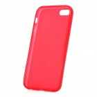 Hotsion I5-05 Protective Soft Silicone Back Case for Iphone 5 - Deep Pink