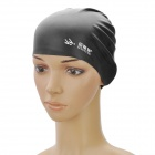 MYSTYLE SC-101 Elasticity Silicone Swim Cap - Black