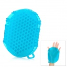 Rubber Healthy Body Massage Glove - Blue