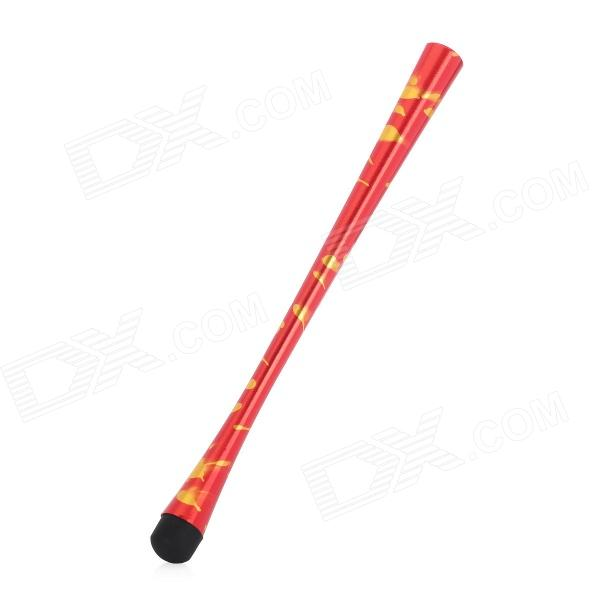 Aluminum Alloy Capacitive Touch Screen Stylus Pen for iPhone / iPad / Cell Phone - Red