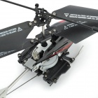 3.5-CH IR Remote Controller Helicopter w/ Missile Launch + Simulation Battle Sounds - Black + Red