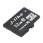 Jlike microSDHC32GB Micro SDHC / TF Memory Card - Black (32GB / Class 10)