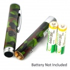 031 Aluminum 5mW 532nm Green Laser Pen - Camouflage Green (2 x AAA)