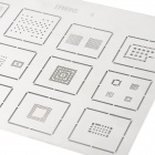 A401 Repair Reballing Stencil Template for Iphone 4 / Ipad - Silver