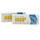 Elektronische Zigarette Cartridge Refills - Cherry Flavor (Yellow / 20 PCS)