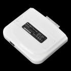 Portable 2000mAh Mobile Power Battery Charger for iPhone - White