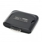 MIMI External 2000mAh Emergency Power Battery Charger for iPhone 2G / 3G / 3GS / 4 / 4S - Black