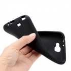 Protective Soft Silicone Back Case for Samsung Galaxy Note 2 N7100 - Black