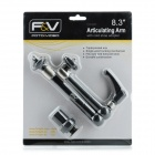 F&V Stainless Steel 8.3'' Articulating Magic Arm w/ Cold Shoe Adapter - Black