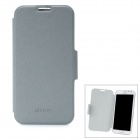 Protective PU Leather Case for Samsung Galaxy Note 2 N7100 - Light Grey