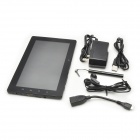 "Freelander PD20-D 7"" Capacitive Screen Android 4.0 Dual Core Tablet PC w/ GPS / Wi-Fi / HDMI - Black"