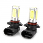 SENCART H10 7.5W 600lm 5-LED White Light Car Fog / Signal / Headlamp (2 PCS / 12~24V)