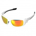OREKA WG004 Outdoor Riding PC Lens TR90 Frame Sunglasses Goggles - White