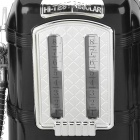 Gas Pump Style Bar Butler Double Pipes Beverage Liquor Dispenser - Black
