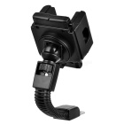 Motorcycle 360 Degree Rotating Mount Holder Support for GPS / Cell Phone - Black + Grey