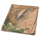 Outdoor Leaves Digital Camouflage Breathable Mesh Fabric Scarf Manggeon