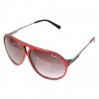 Oreka WG-007 C3 Fashion Nylon Resin Lens Cellulose Acetat Rahmen Sonnenbrillen Goggles - Red + Black