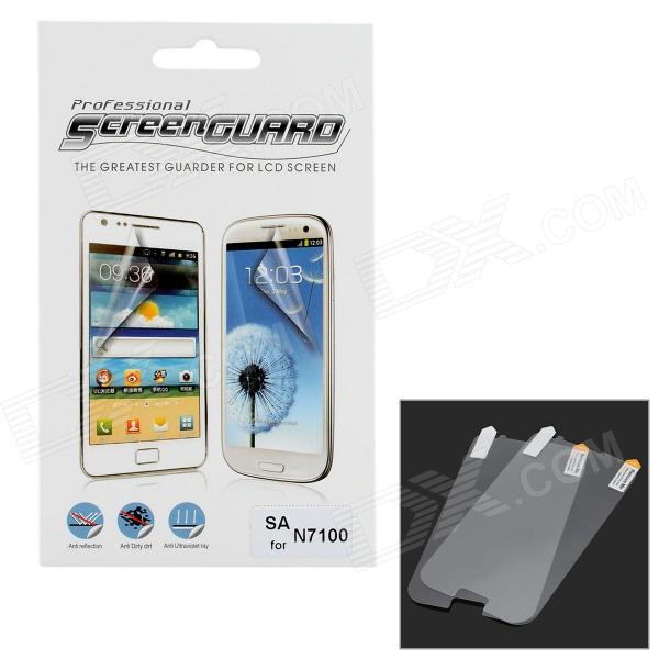 Protective Clear Screen Protector Guard Film for Samsung Galaxy Note 2 N7100 (2 PCS)