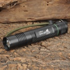 UltraFire SH-F12 Cree XM-L T6 850lm 3-Mode Memory White Light Flashlight - Black (1 x 18650)
