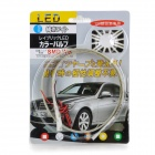 4.8W 330LM Cool White 48*1210 SMD LED Flexible Light Strip (12V/ 60cm)