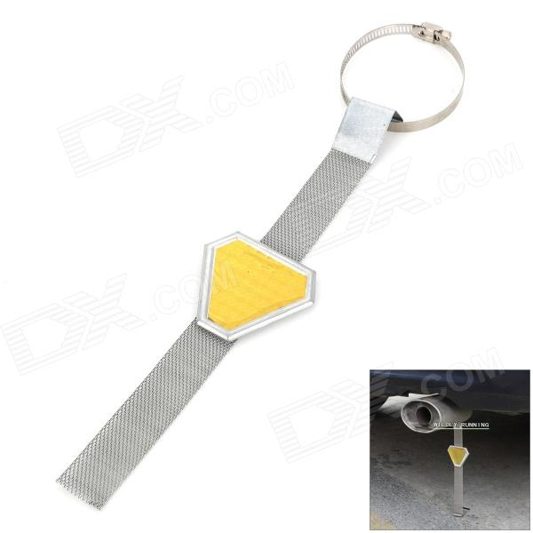 Car Exterior Anti Static Safe Earth Ground Belt - Golden