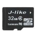 Jlike TF32G-C4 Micro SDHC / TF Memory Card - Black (32GB / Class 4)