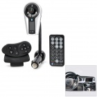 "1"" LCD Screen Handsfree Bluetooth V2.1 MP3 Player FM Transmitter - Black"