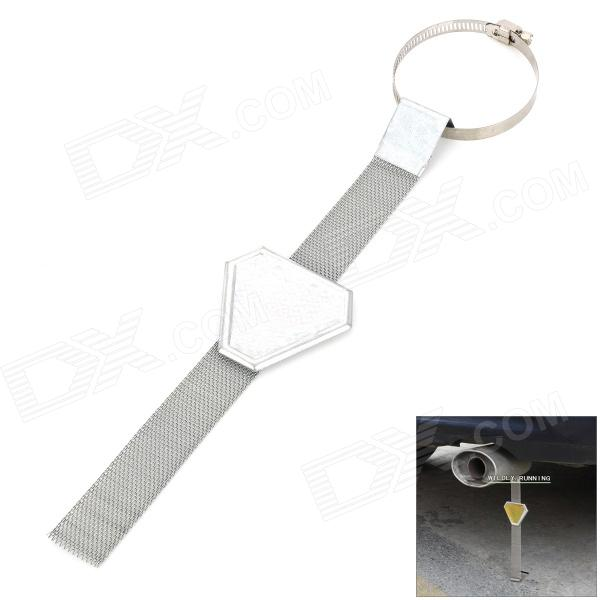 FF048 Car Exterior Anti Static Safe Earth Ground Belt - Silver