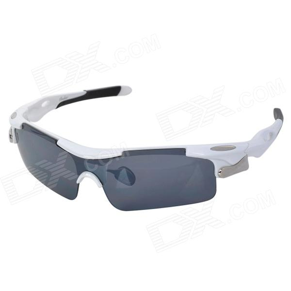 OREKA WG005 Fashion Outdoor Riding PC Lens TR90 Frame Sunglasses Goggles - White