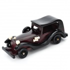 Classic Handmade Bamboo Wecker Car Model - Chestnut Brown