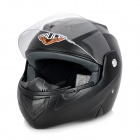 Paulo X3 Flip-Up Motorrad Outdoor Sports Racing Helmet - Black (Größe L)