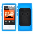 Protective TPU Case w/ Belt Clip for iPod Nano 7 - Blue