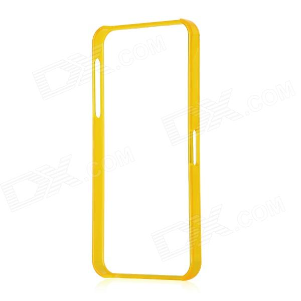 Ultra Thin Protective Bumper Frame for Iphone 5 - Translucent Orange