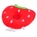 Beautiful Strawberry Style Music Playing Cushion Pillow - Red + Green (3.5mm Plug)