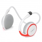 AX-610 Bluetooth V2.1+EDR Stereo Headset Headphones with Microphone - White + Red