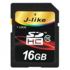Jlike SDHC16-C10 High Speed SDHC Memory Card - Black (16GB / Class 10)