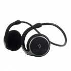 AX-610 Bluetooth V2.1+EDR Stereo Headset Headphones with Microphone - Black + Red