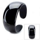 Bluetooth V2.0 + EDR Bracelet w/ Answer Call + Vibration Function + Digital Time - Black