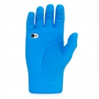 Palm Style Protective Silicone Case for iPhone 4 / 4S - Blue