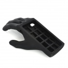 Palm Style Protective Silicone Case for Iphone 4 / 4S - Black