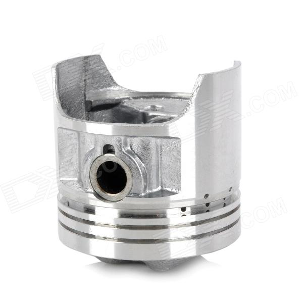 CYT Aluminum Alloy Motorcycle Trunk Piston for Suzuki GS125 - Silver