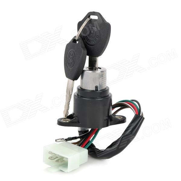 CYT Motorcycle Electrical Lock for Honda CBT125 - Black balluff proximity switch sensor bes 516 383 eo c pu 05 new high quality one year warranty
