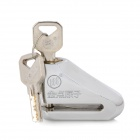 Gold Point Atomic 1503 Steel Alloy Anti-Theft Lock with Keys - Silver