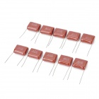 M-CAP 2.2uF 250V Capacitor for DIY Project - Deep Red (10 PCS)
