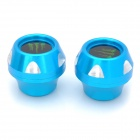 DIY Motorcycle Front Fork Decoration Protection Cup - Blue(2 PCS)