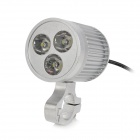 Waterproof 5W 300lm 3-LED Warm White Light Motorcycle Spot Light Headlamp (12V)
