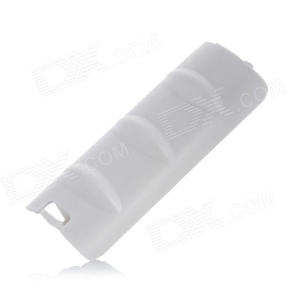 Replacement Battery Back Cover Shell for Wii Controller - White