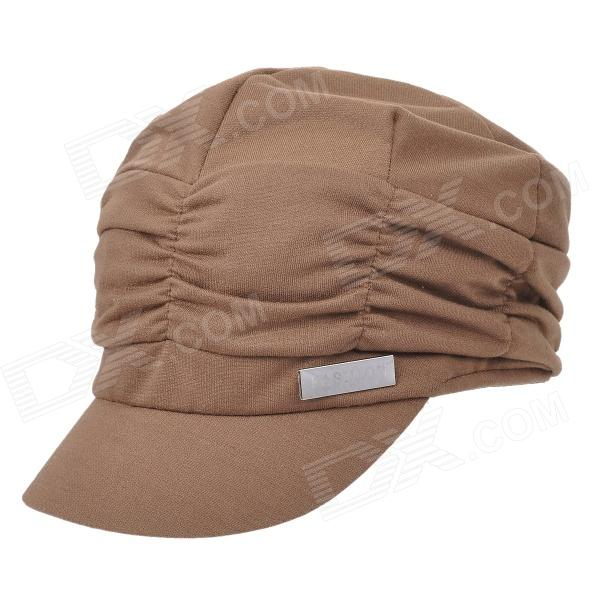 Fashion Folding Cotton Hat / Cap - Coffee