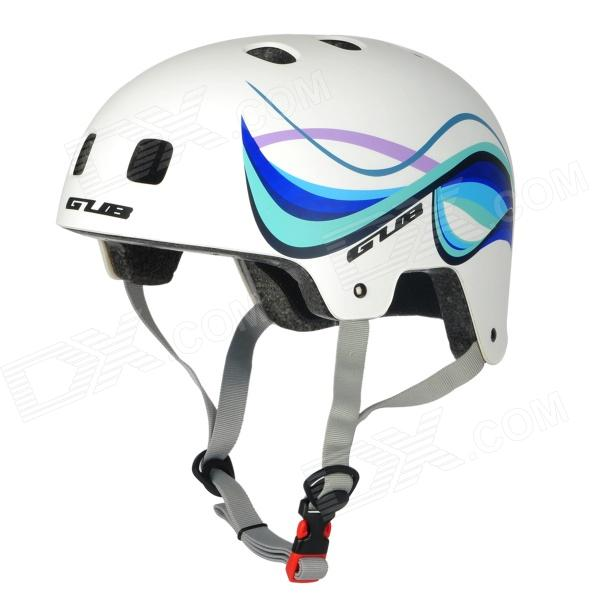GUB FR Mountain Bike Cycling Helmet - White